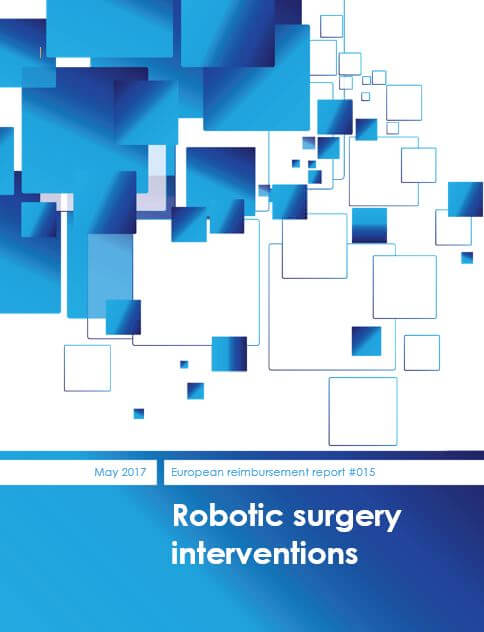 Reimbursement report for robotic surgery